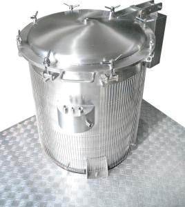 Autoclave verticale da 100 litri