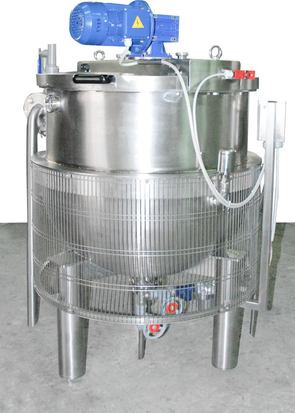 Bacinella da 500 litri a vapore