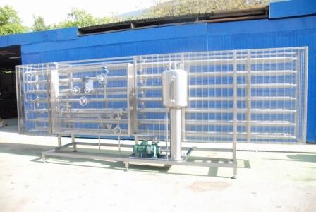 Pastorizzatore tubo in tubo